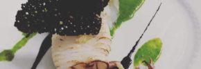 Calamaro cime di rapa e nero di seppia