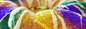 King Cake di New Orleans
