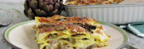Lasagne ai Carciofi e Salsiccia