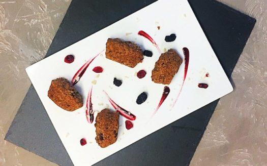 Vegan-Gourmet Muffin ai mirtilli rossi
