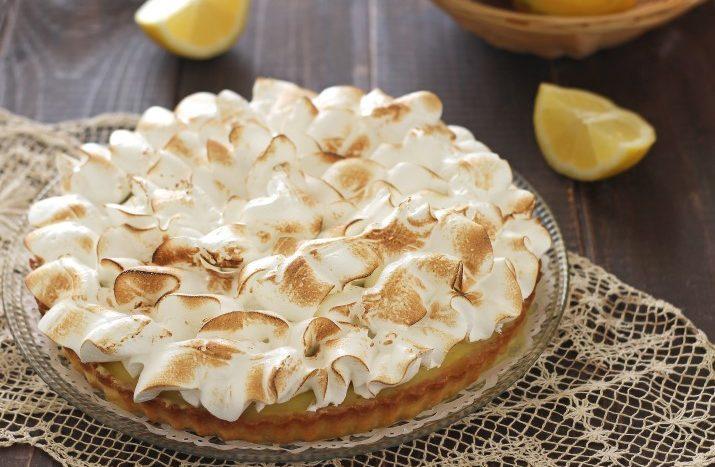 Crostata meringata alla crema di limone