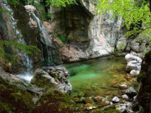 Fonte Cimentara - Marmitta fluviale